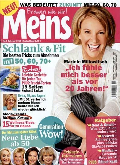 frauen zeitschriften magazine ab 50